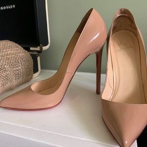 Auth. Christian Louboutin Pigalles 120mm